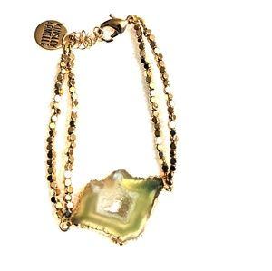 Green stone Kinsley Armelle bracelet